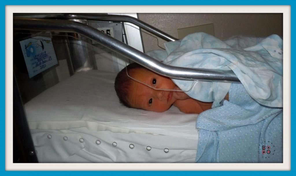 neonato nella culla