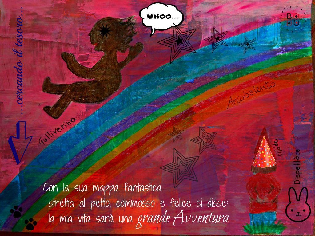 bimbo sull'arcobaleno