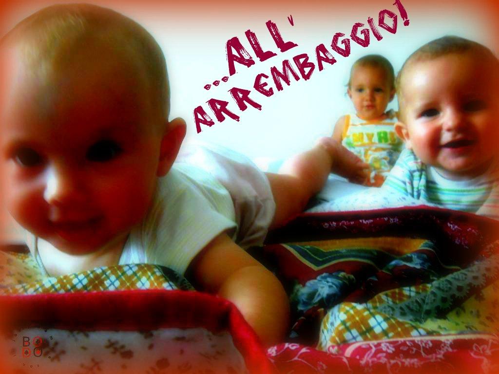 bimbi sul lettone