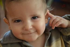 bimbo che sorride