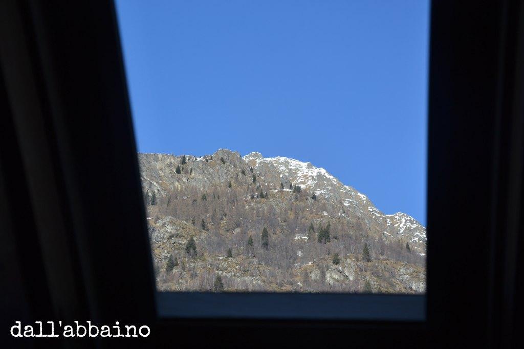 montagne dall'abbaino