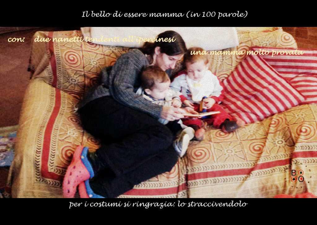 mamma e due bimbi