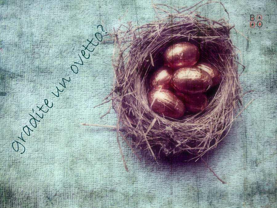 ovetti in un nido