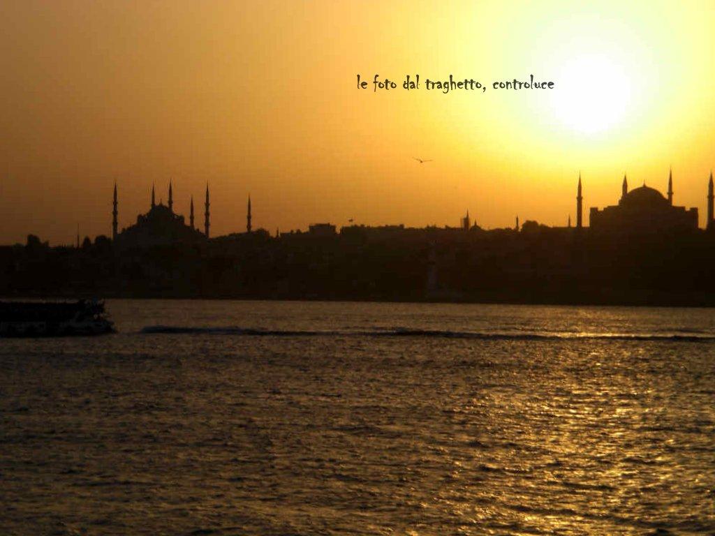Istanbul, vista dal traghetto
