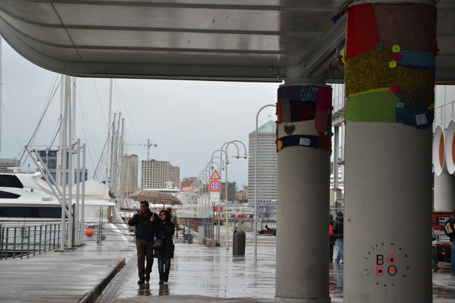 scorcio di Genova, porto