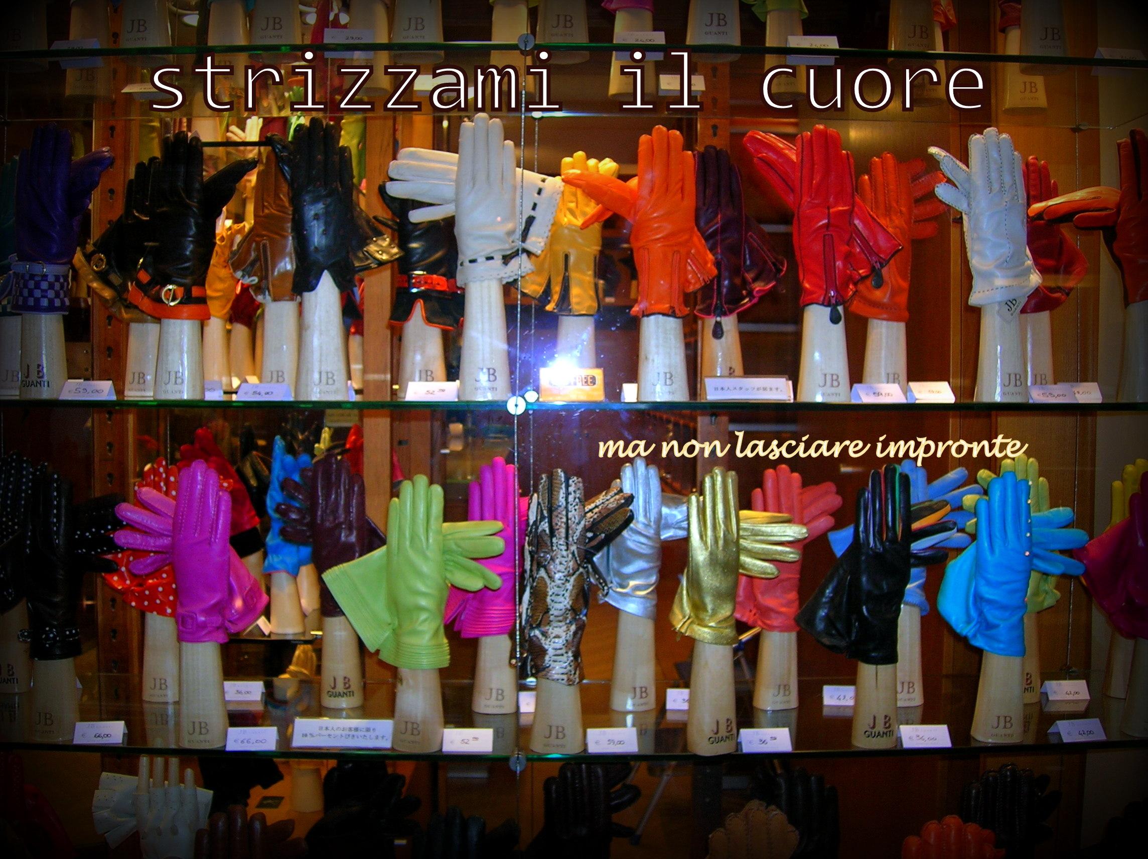 negozio di guanti