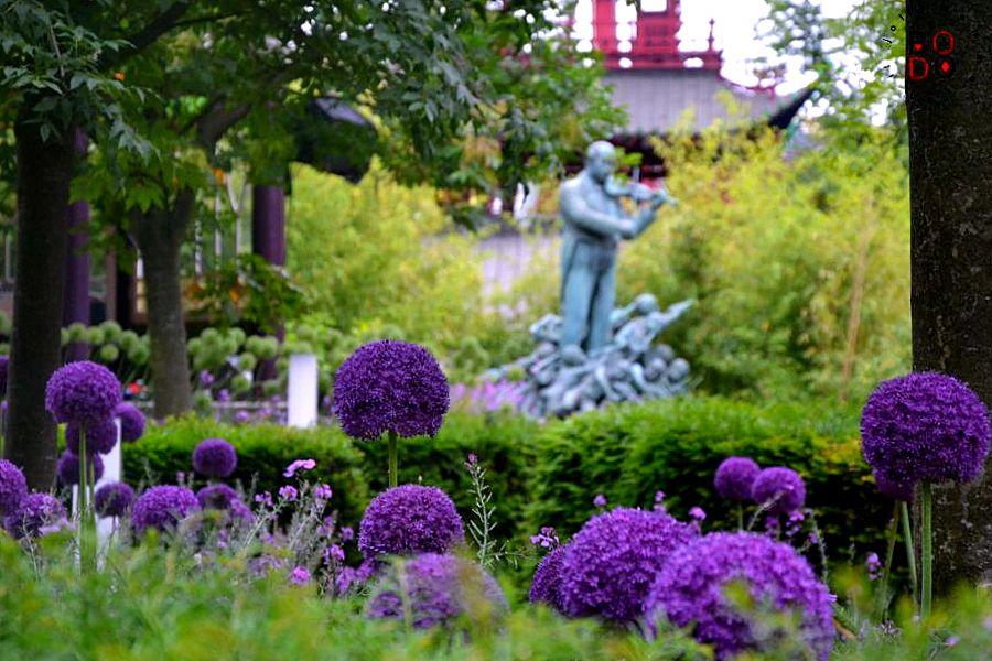 parco Tivoli a Copenaghen