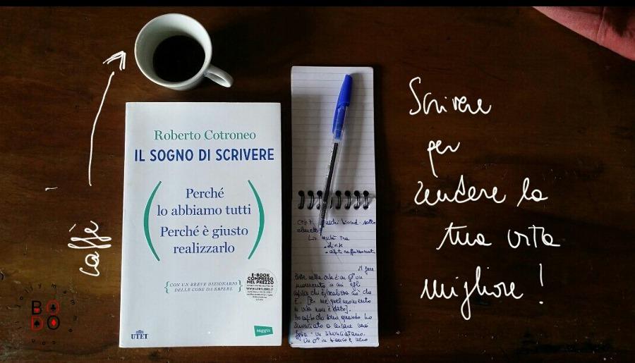 Il sogno di scrivere, Roberto Cotroneo