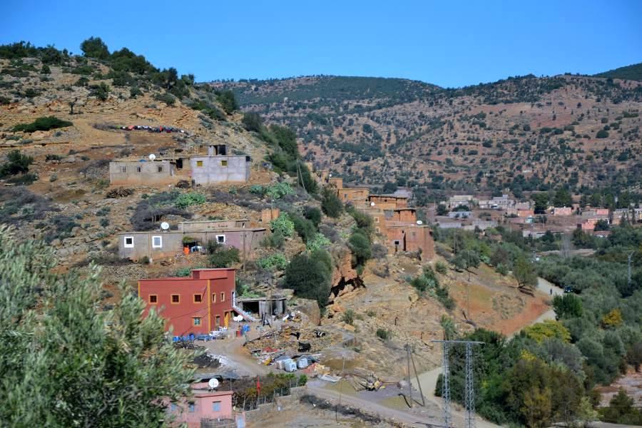 dintorni di Demnate, Marocco