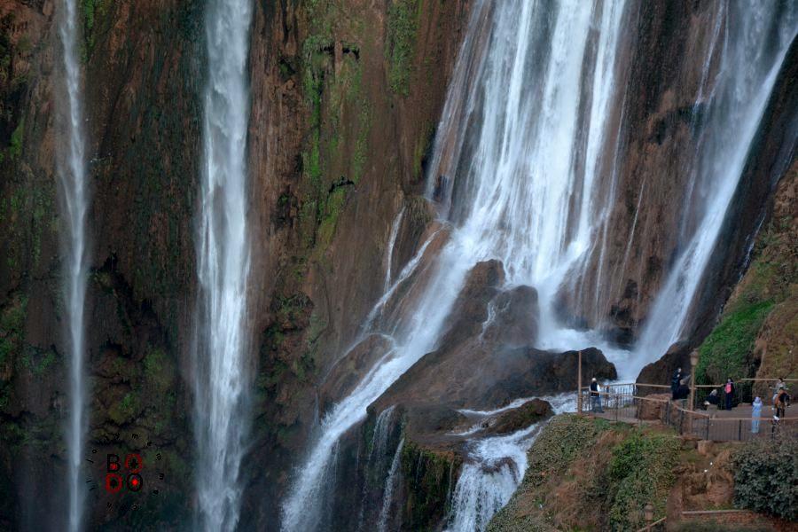 cascate di ouzud, marocco