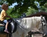 bambino a cavallo